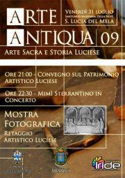 Arte Antiqua 09 - Arte Sacra e Storia Luciese