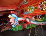 Particolare: la chiave decorata di un carretto siciliano