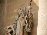 Ragusa Ibla, particolare scultura