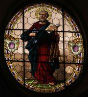 Ragusa Ibla, particolare vetrata