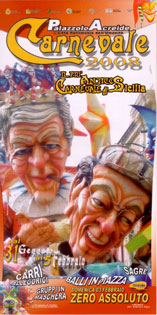 Locandina Carnevale Palazzolo 2008