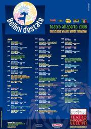 Manifesto Teatro Bellini Estate 2008