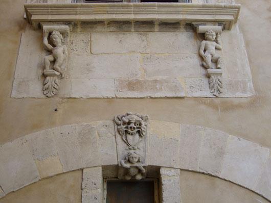 Siracusa, particolare architettonico
