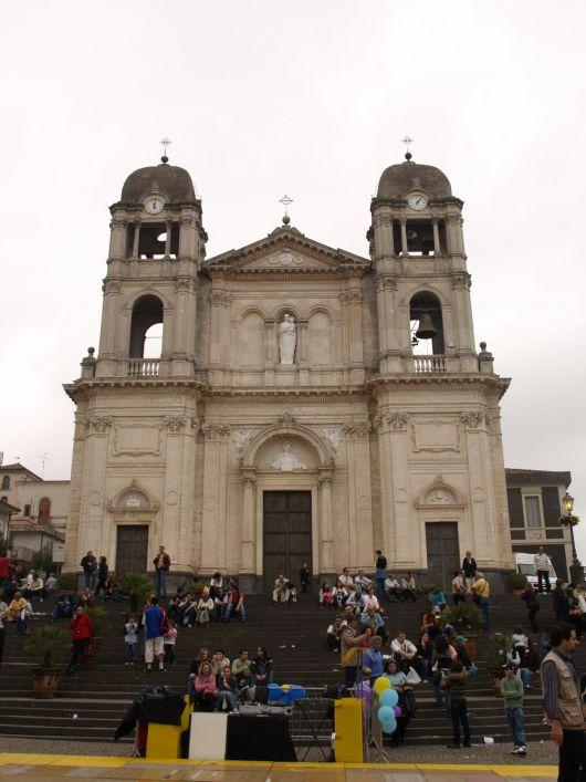 Chiesa madre, piazza Umberto, Zafferana