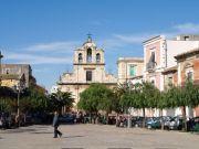 Piazza Umberto e Chiesa di Sant'Alfio, Lentini