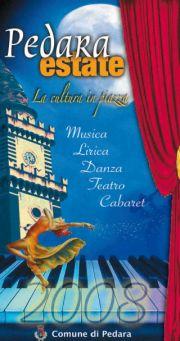 Eventi Estate 2008 a Pedara  (Catania)