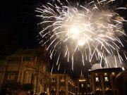Fuochi d'artificio per Sant'Agata