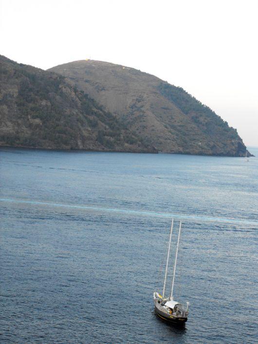 In barca a Lipari