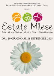 Locandina Estate Milese 2008