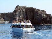 Gita in barca a Panarea