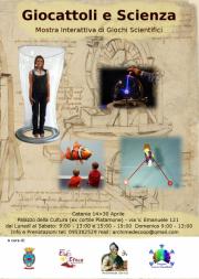 Giocattoli e Scienza 14-30 Aprile 2012