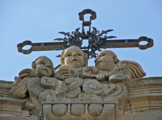 Chiesa S. Lucia alla Badìa, dettaglio
