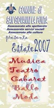Programma San Giovanni La Punta 2007