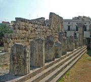 Resti del tempio di Apollo - Ortigia