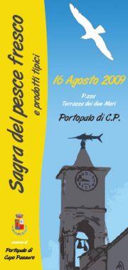 Sagra del Pesce Fresco e Prodotti Tipici a Portopalo di Capo Passero