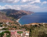 Taormina, panorama