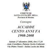 Convegno Terremoto di Messina